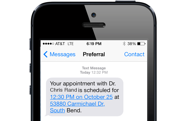 Patient Engagement Screenshot